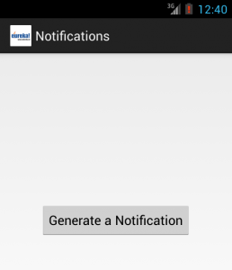 Generate a Notification