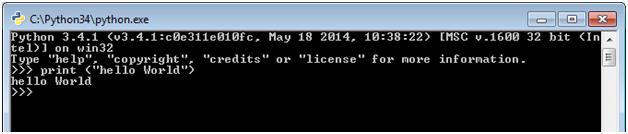 Python 101 - Hello World Program