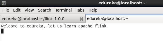 Terminal-Apache-Flink