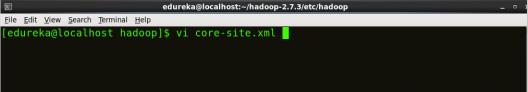 Editing Core-site - Install Hadoop - Edureka