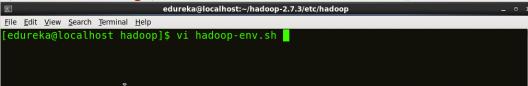 Editing Hadoop-env - Install Hadoop - Edureka