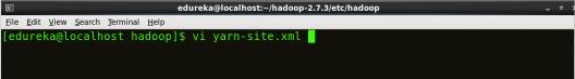 Editing YARN-site - Install Hadoop - Edureka