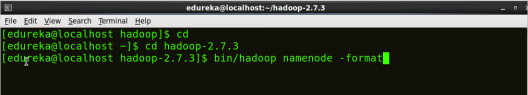 Formatting NameNode - Install Hadoop - Edureka
