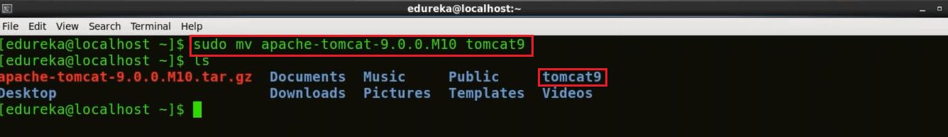 Move Tomcat - Install Jenkins - Edureka