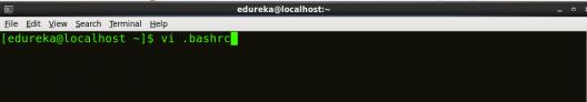 Open bash - Install Hadoop - Edureka