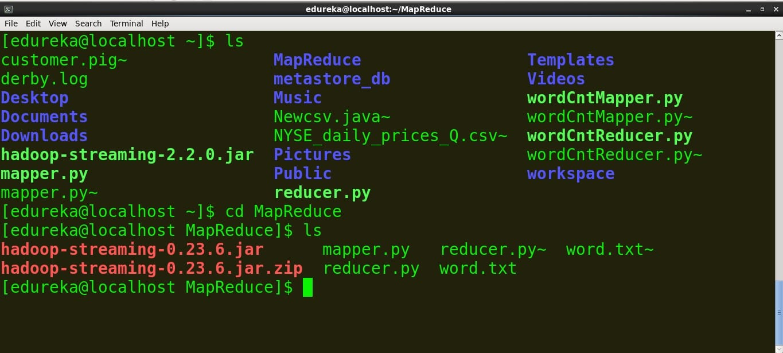 Hadoop Streaming: Writing A Hadoop MapReduce Program In