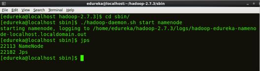 Start NameNode - Install Hadoop - Edureka