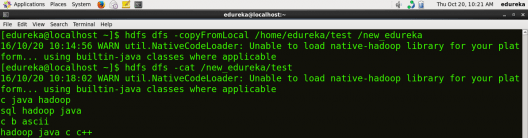 Copy File from Local to HDFS - HDFS Commands - Edureka