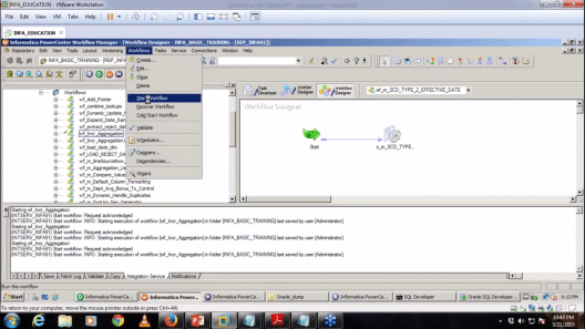 Informatica-tutorial-Workflow- Informatica Tutorial
