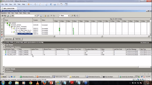 Informatica-tutorial-Workflow-output- Informatica Tutorial