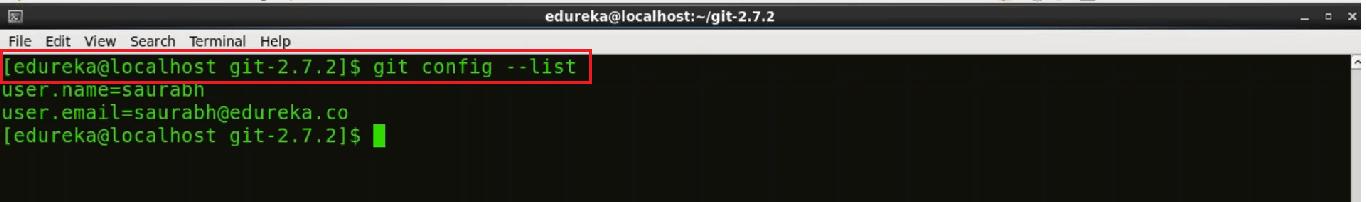 Centos Git Installation Step 17 - Install Git - Edureka