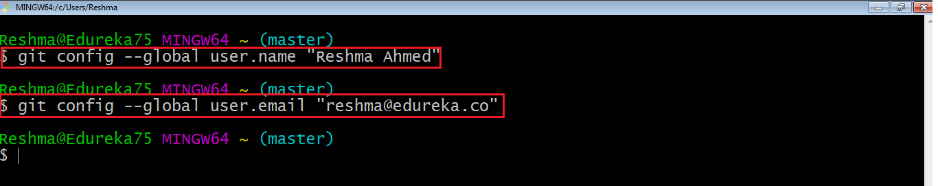 Git Windows Configuration - Install Git - Edureka