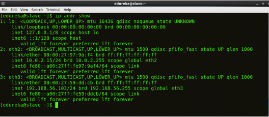 Slave IP Address - Hadoop Multi Node Cluster - Edureka