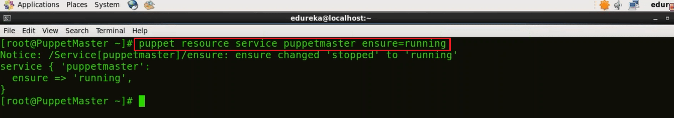Start Puppet - Install Puppet - Edureka