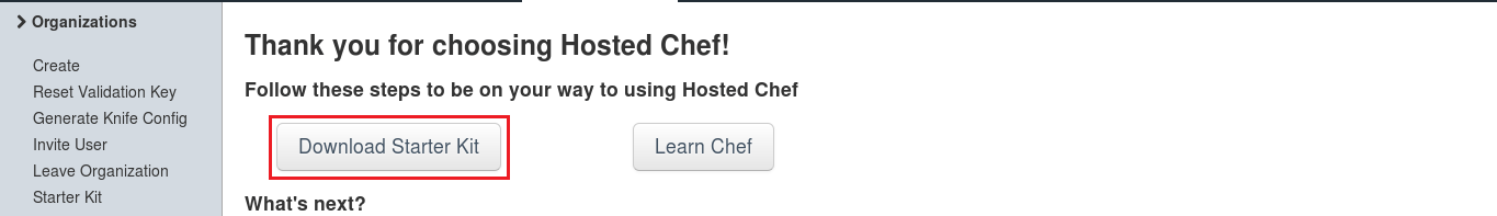Starter Kit Download - Install Chef - Edureka