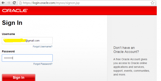 Oracle-signin - Informatica installation - Edureka