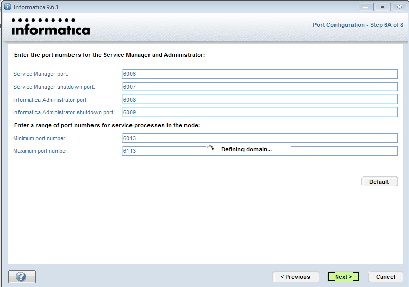 Informatica-installation-domain-7 - Informatica installation - Edureka