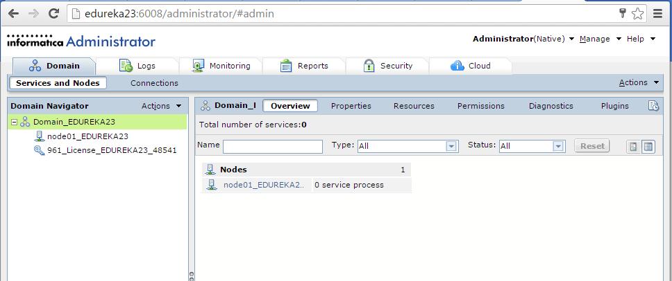 Informatica-installation-admin-consol - Informatica installation - Edureka