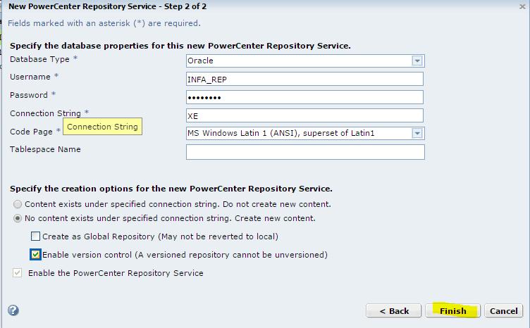 Informatica-installation-repository-5 - Informatica installation - Edureka