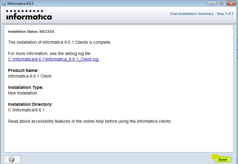Informatica-installation-client-6 - Informatica installation - Edureka