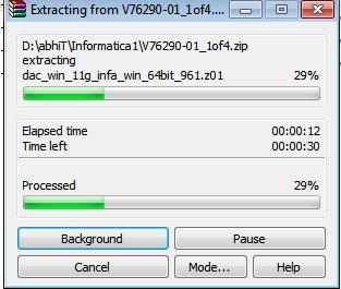 unzip - 2- Informatica installation - Edureka