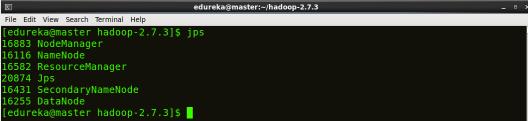 jps - Hadoop Multi Node Cluster - Edureka