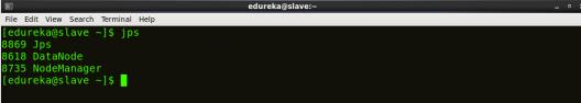 jps slave - Hadoop Multi Node Cluster - Edureka