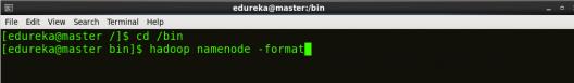Namenode format - Hadoop Multi Node Cluster - Edureka