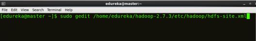 open hdfs-site Hadoop Multi Node Cluster - Edureka