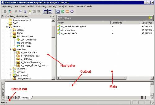 informatica-tutorial-powercenter-repository-manager-window