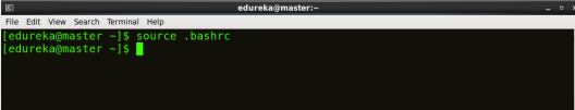 Source bash - Hadoop Multi Node Cluster - Edureka