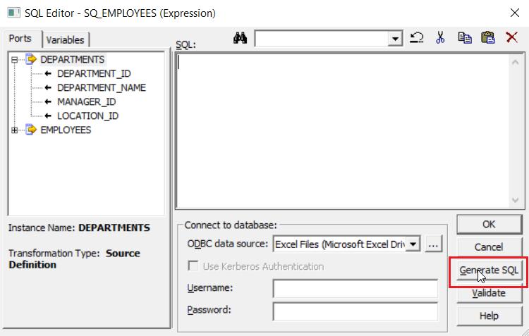 Genetating SQL - Informatica ETL - Edureka