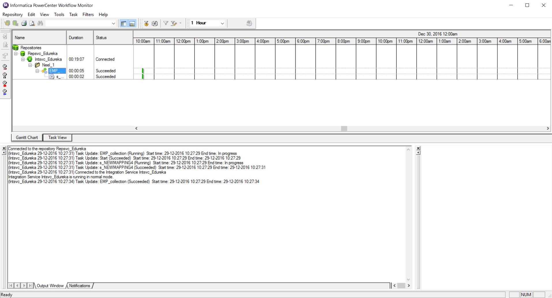 Workflow Moniter - Informatica ETL - Edureka