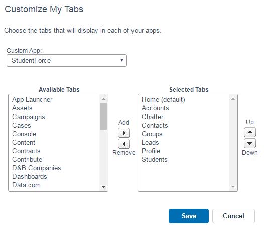 custom tabs - salesforce tutorial - edureka