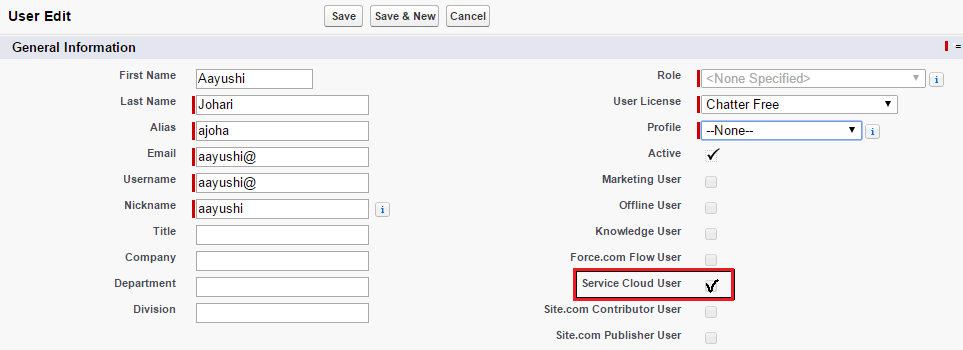 Console Access Salesforce Service Cloud - Edureka