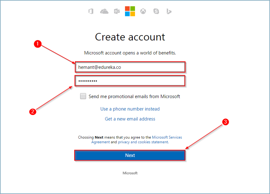 Account - What is Azure - Edureka