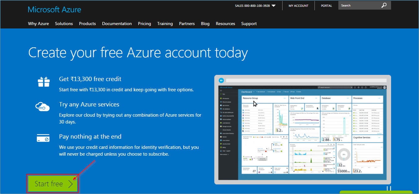 Start Free - What is Azure - Edureka