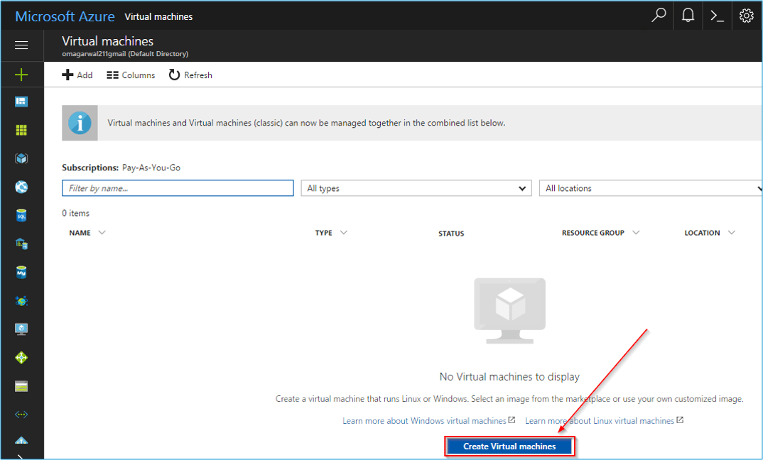 Step2 - Azure Tutorial - Edureka