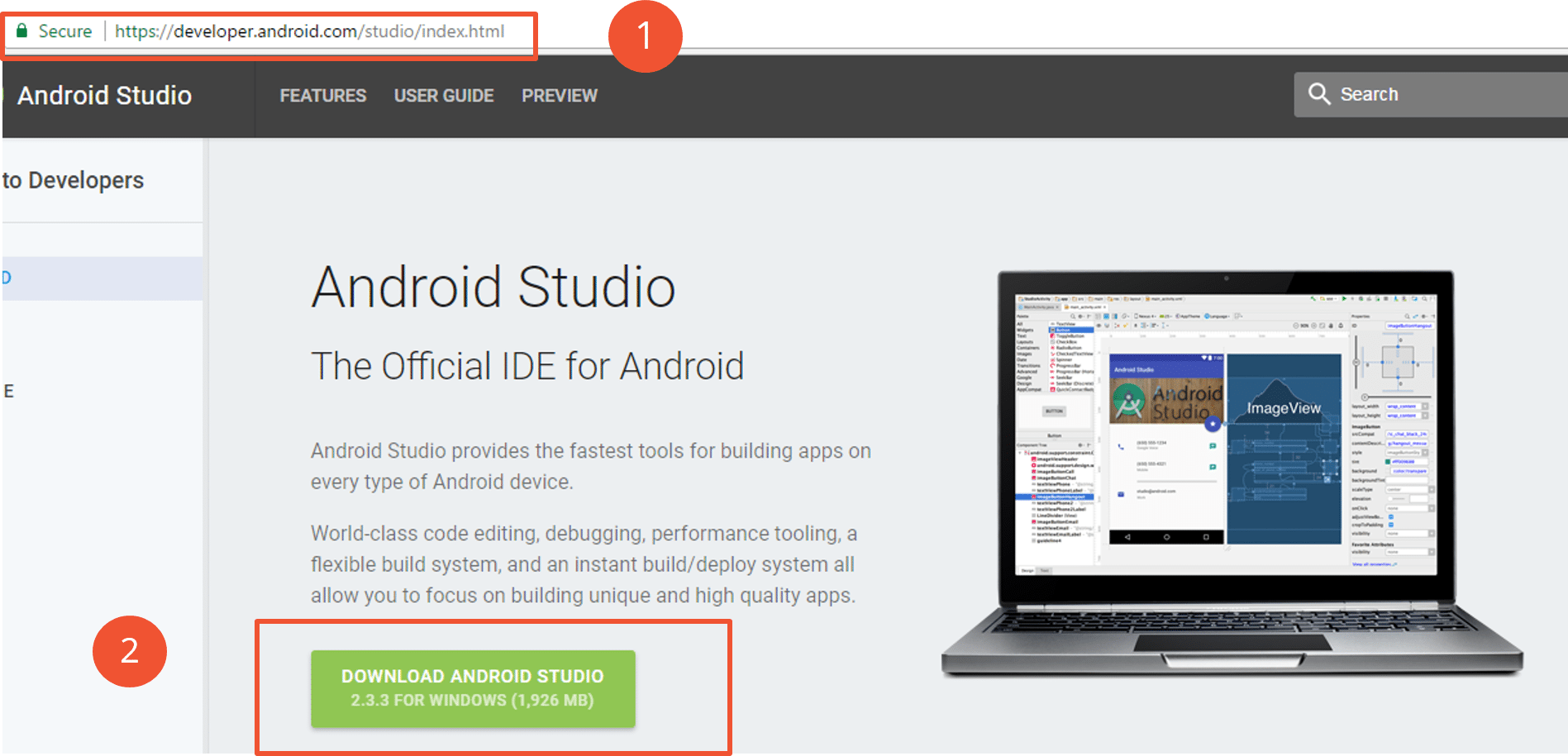 Installing Android Studio