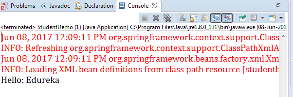 Spring Tutorial | Getting Started With Spring Framework | Edureka