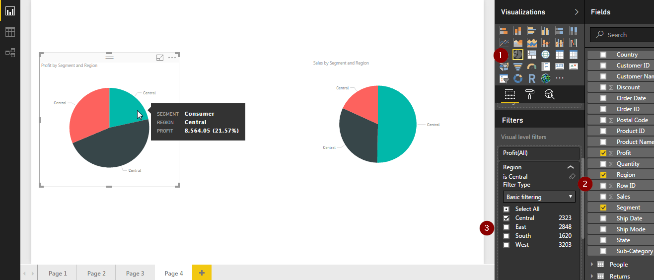 customer view - Power BI Dashboard - Edureka