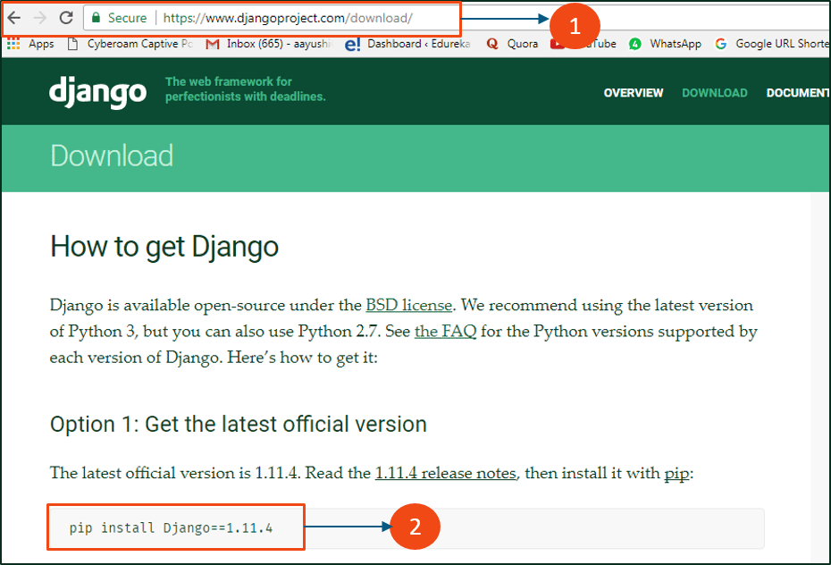 Django Tutorial | Create Your First Python Django
