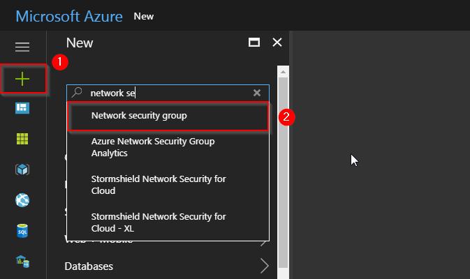 Select NSG - Azure Virtual Networks - Tutorial