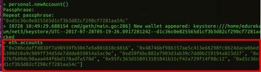 eth.accounts - Blockchain Tutorial -Edureka