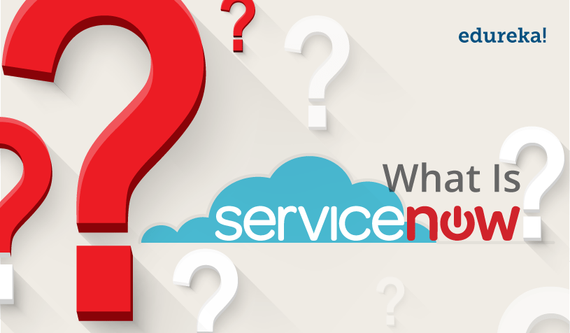 Feature Image- What Is ServiceNow - Edureka