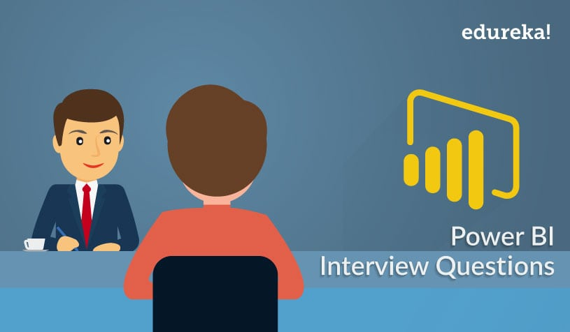 Feature Image - Power BI Interview Question - Edureka