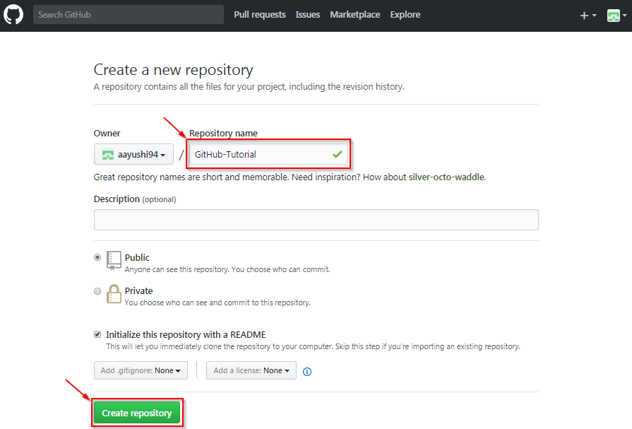 Create a New Repository - how to use github - Edureka