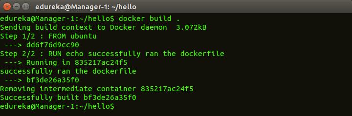 docker_build - Docker Commands - Edureka