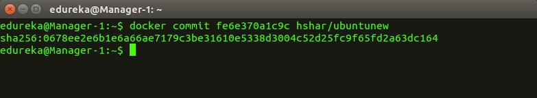 docker_commit - Docker Commands - Edureka