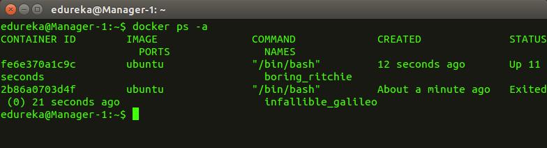 docker_psa - Docker Commands - Edureka
